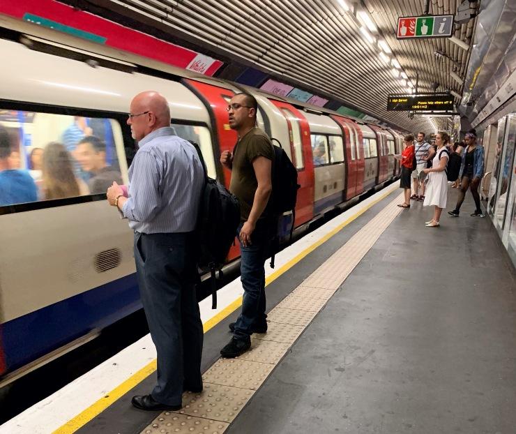 underground at The Tube