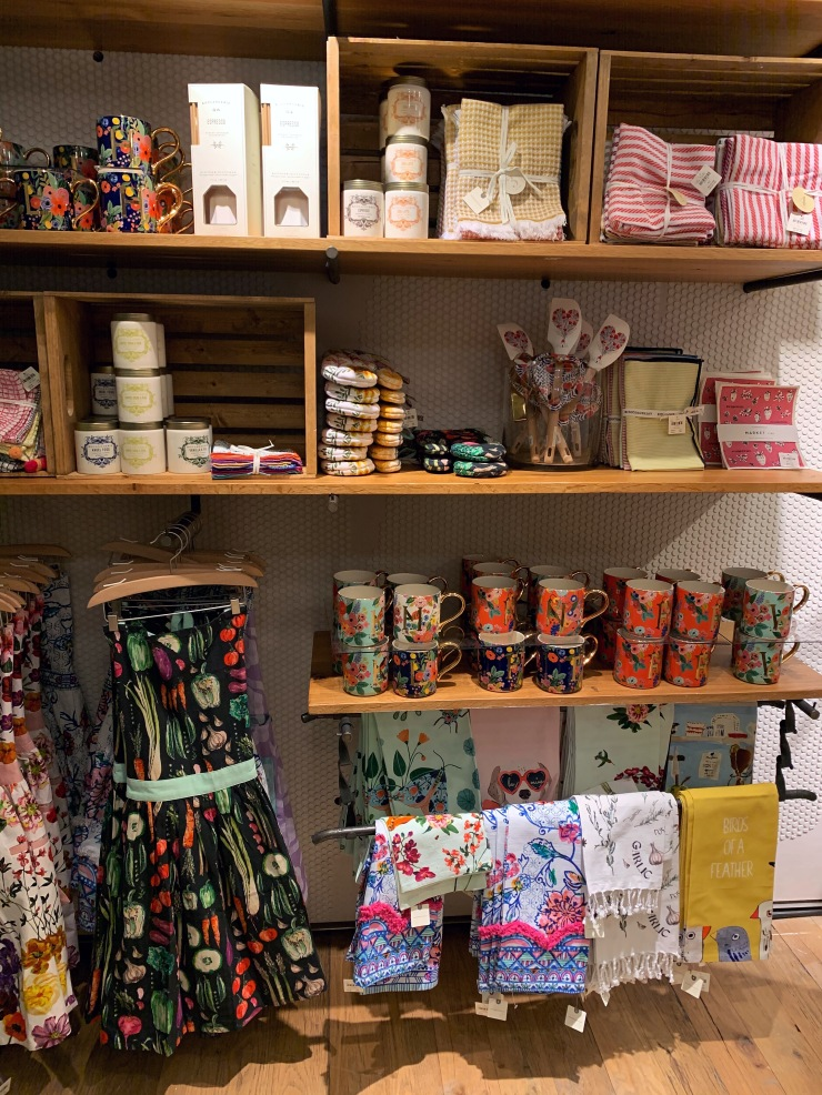 Anthropologie store interior kitchen section