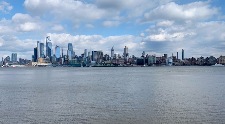 Manhattan skyline from Hoboken