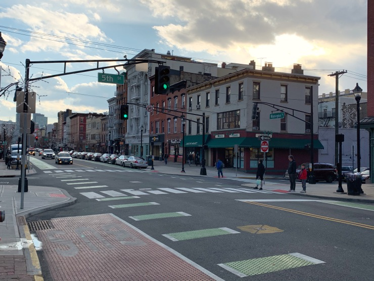 Washington Street in Hoboken, New Jersey