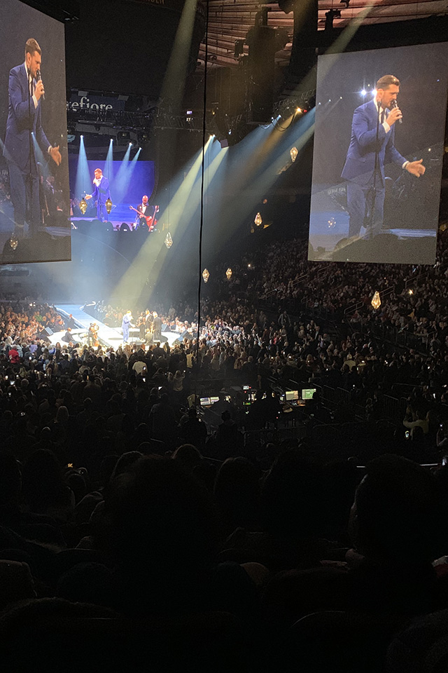 Michael Bublé at Madison Square Garden